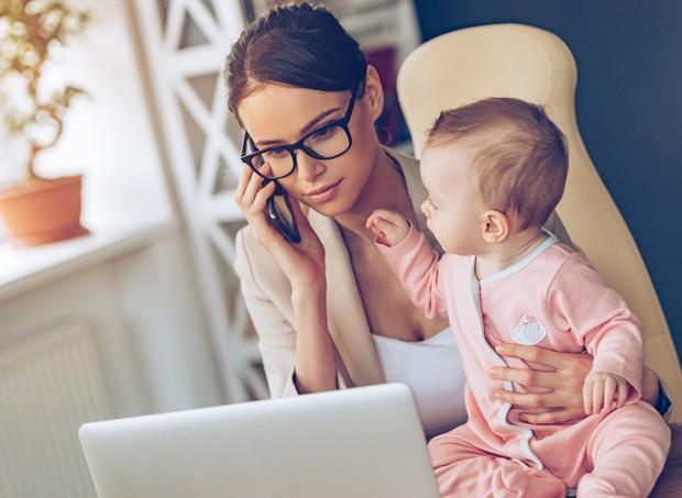 Você está pronta para ser uma mãe empreendedora? (Foto: Thinkstock)