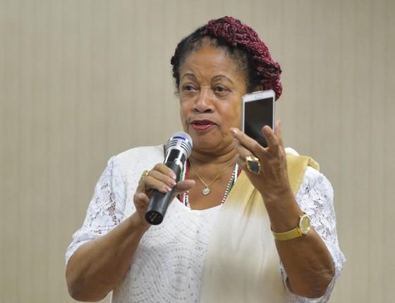 A ministra dos Direitos Humanos, Luislinda Valois (Foto: Marcello Casal Jr./Agência Brasil)