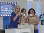 Prêmios são sonho realizado de Andressa (Domingão do Faustão/TVGlobo)
