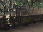 Grupo faz ato em memória de médico morto há um ano na Lagoa, Rio