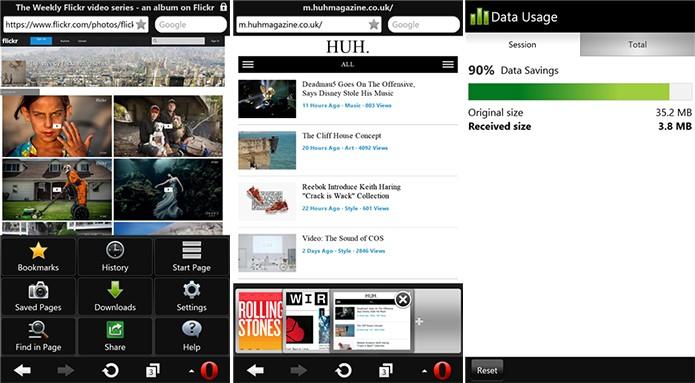 Opera Mini é um navegador para Windows Phone capaz de reduzir o consumo de dados em 90% (Foto: Divulgação/Windows Phone Store)