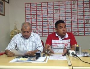Ricardo Bezerra e Eliel Tavares - América-RN (Foto: Divulgação/América-RN)