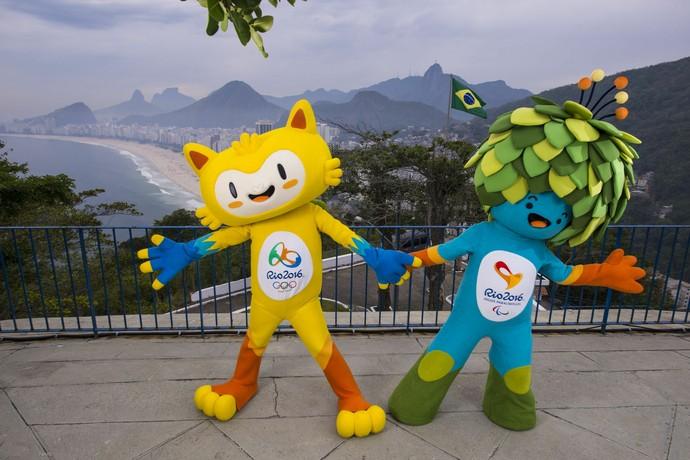Mascotes Rio 2016 (Foto: Divulgação )