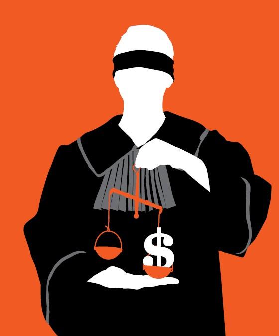 Época descobre os salários dos juízes (Foto: Ilustração: Daniel Graf e Alexandre Lucas)