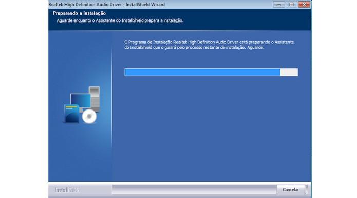 Inicie a instalação do driver no computador (Foto: Reprodução/Barbara Mannara)