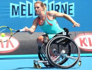 Tenista Holandesa Esther Vergeer, Australia Open 2012 (Foto: Getty Images)