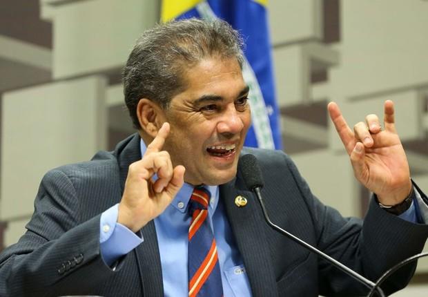 O senador Hélio José (PMDB) (Foto: Marcelo Camargo/Agência Brasil)