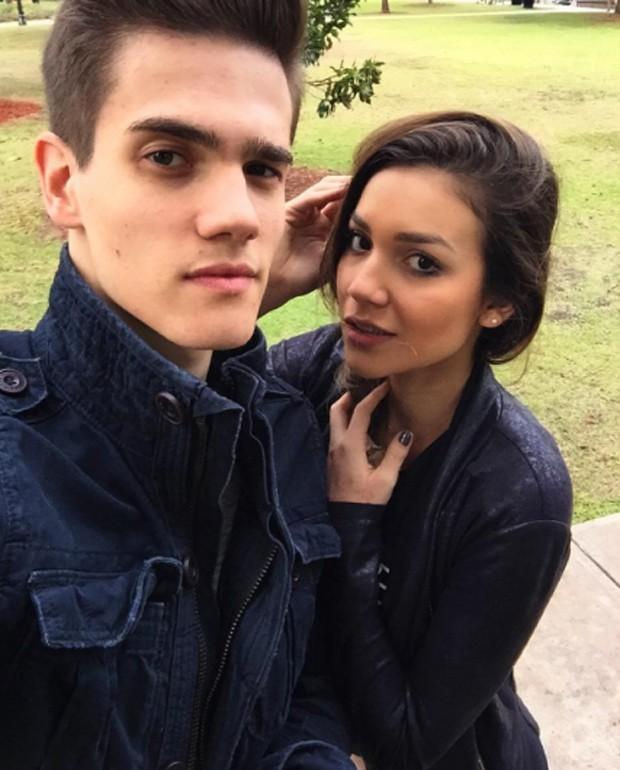 Breno e Bruna Santana: namoro discreto (Foto: Reprodução)