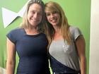 Fernanda Gentil vira professora de Dany Bananinha em curso no Rio de Janeiro
