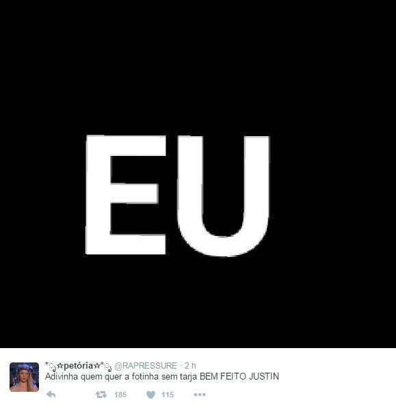 Justin Bieber (Foto: Reprodução / Twitter)