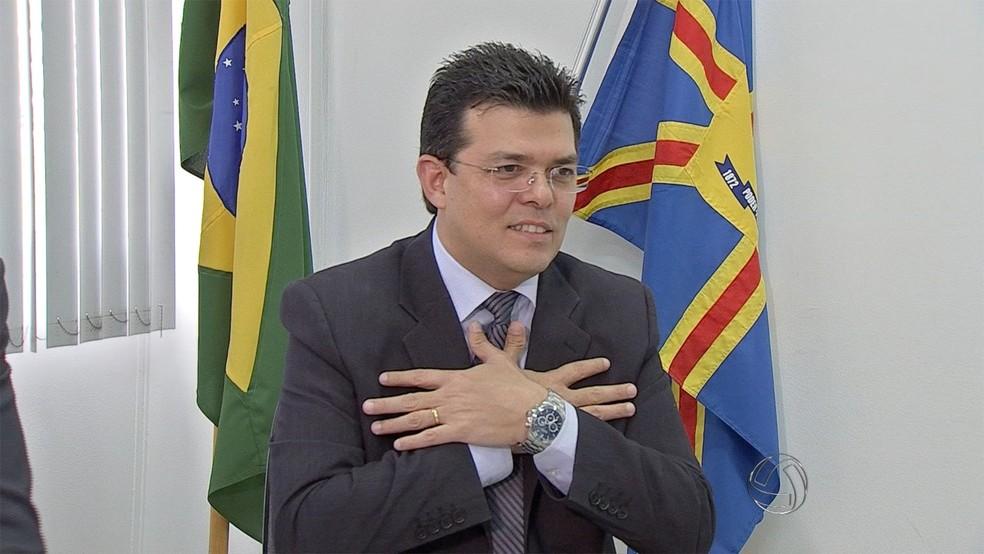 Ex-prefeito de Campo Grande, Gilmar Olarte (Foto: Reprodução/TV Morena)
