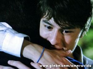 Jonathan decide ficar ao lado de Félix (Foto: Amor à Vida/TV Globo)