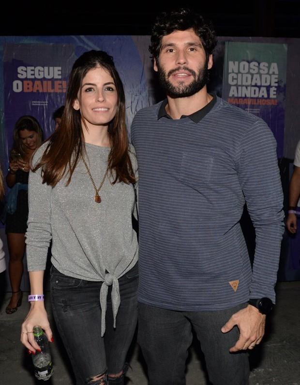 Dudu Azevedo e a milher, Fernanda Mader (Foto: v)