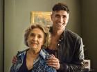 Eva Wilma celebra nova parceria com Gianecchini: 'Vamos fazer uma boa dupla'