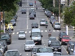 Número de acidentes preocupa em Divinópolis (Foto: Reprodução/TV Integração)