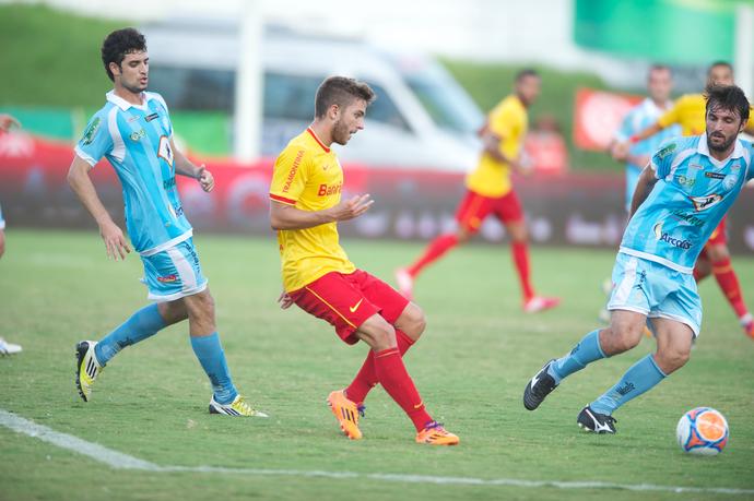 Winck no jogo contra o Lajeadense pelo Gauchão 2014 (Foto: Alexandre Lopes/Inter Divulgação)