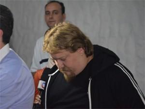 José Manoel Giardini Sobrinho, ex-produtor de Thiaguinho (Foto: Fernando Pacífico / G1)