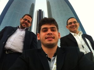 Aplicativo criado por três jovens alagoanos foi escolhido o melhor do mundo no prêmio de tecnologia (Foto: Divulgação/Ronaldo Tenório)
