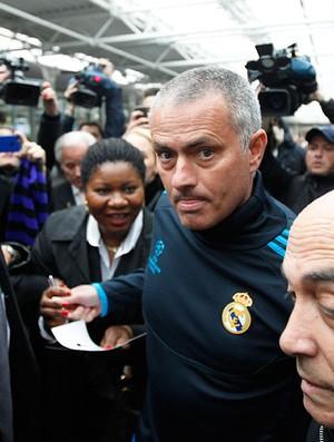 Mourinho - coletiva do Real (Foto: Ag. Ap)