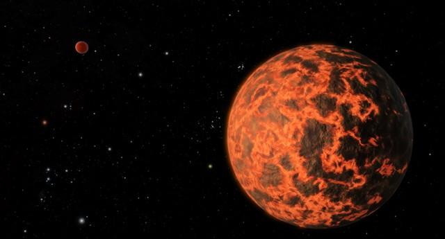 Telescópio da Nasa detecta planeta a 33 anos-luz de distância da Terra (Foto: NASA / JPL-Caltech)