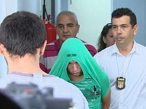 Motorista foi encaminhado à Cadeia Desembargador Raimundo Vidal Pessoa, no Centro (Foto: Reprodução/TV Amazonas)