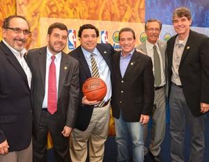 LNB firma parceria com a NBA, Basquete (Foto: Luiz Pires/LNB)