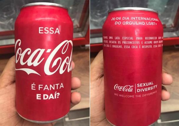 Essa Coca é Fanta. E daí? (Foto: Twitter/Reprodução)