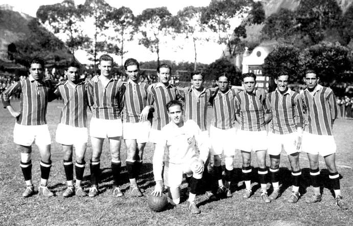 Sob o comando de Charles Williams, o Fluminense foi campeão carioca de 1924 (Foto: Acervo Flu-Memória)