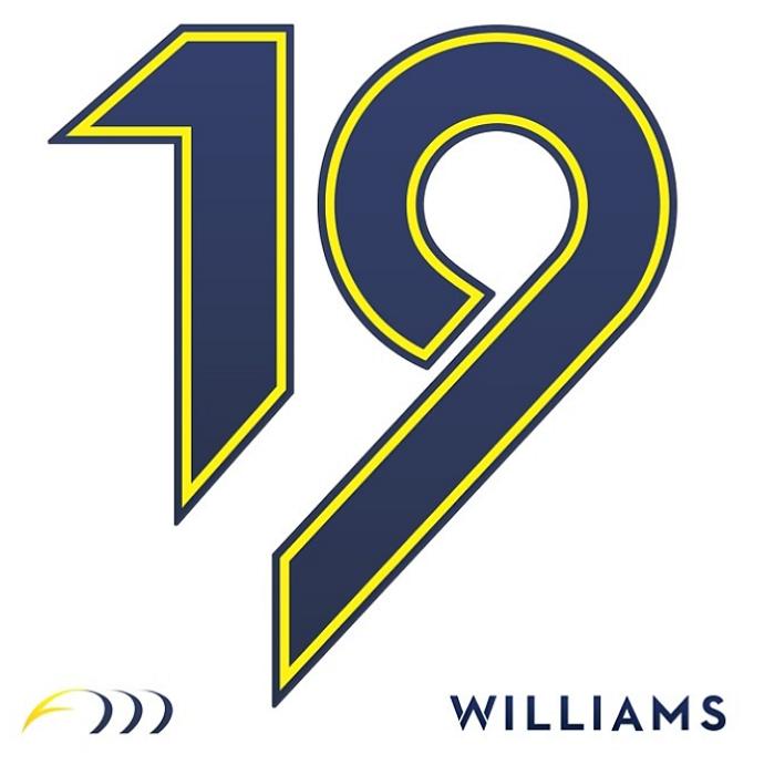 Layout do número 19, que será utilizado por Felipe Massa neste ano