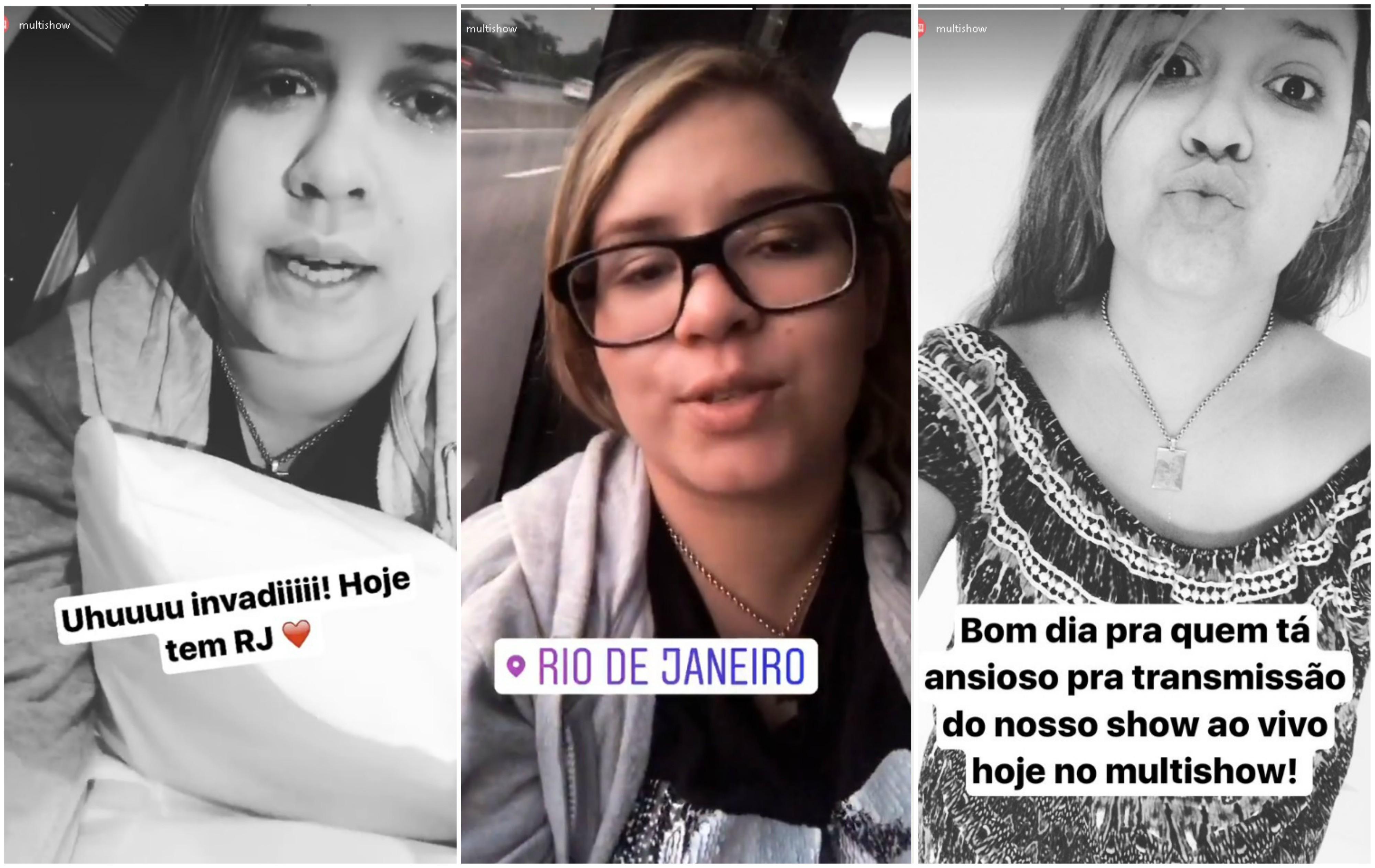 Marlia Mendona invade o Instagram do Multishow antes de se apresentar no Rio de Janeiro (Foto: Reproduo/Instagram)