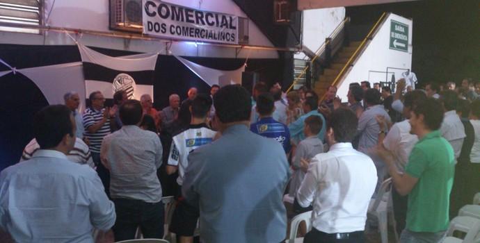 Eleição do Comercial-SP (Foto: João Fagiolo)
