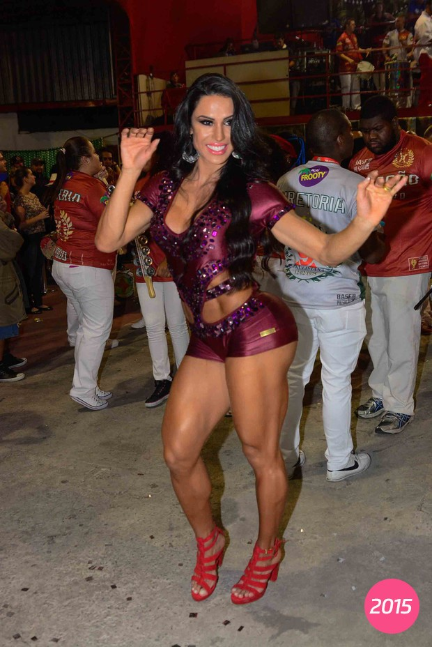Gracyanne Barbosa em foto de 2015 (Foto: Leo Franco / AgNews)