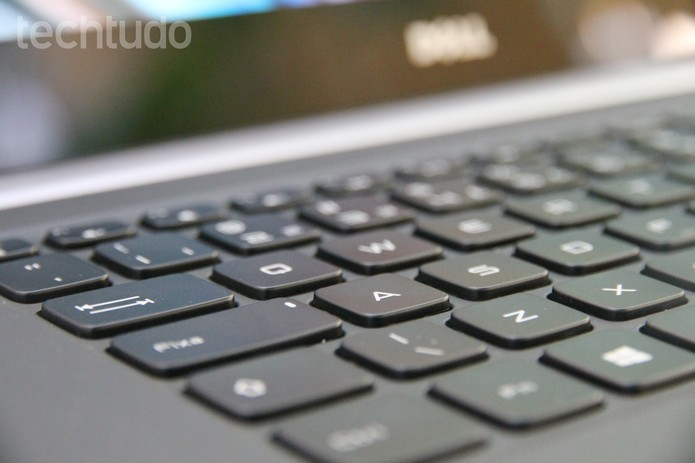 teclado notebook (Foto: Tainah Tavares/TechTudo)