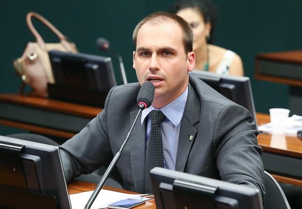 O deputado Eduardo Bolsonaro (PSC-SP), filho de Jair Bolsonaro (Foto: Luis Macedo/Câmara dos Deputados)