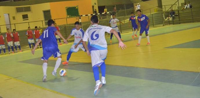 Roraimense de Futsal Sub-20, Vivaz x Airton/Casarão (Foto: Nailson Wapichana)