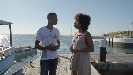 'Aprovado' faz passeio por sítios históricos da Ilha de Itaparica