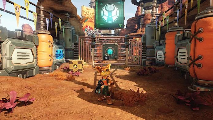 Ratchet & Clank é, de longe, um dos jogos mais bonitos de PS4 (Foto: Reprodução/Victor Teixeira)