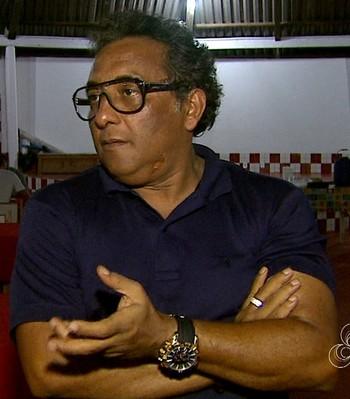 Carlinhos Farias, gestor de futebol do Rio Branco (Foto: Reprodução/Rede Amazônica Acre)