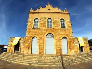 Igreja de Santana foi construída no século XIX (Foto: Manu Dias/GOVBA)