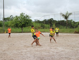 Campeonato de Futebol de Areia em Porto Velho (Foto: Daniele Lira)