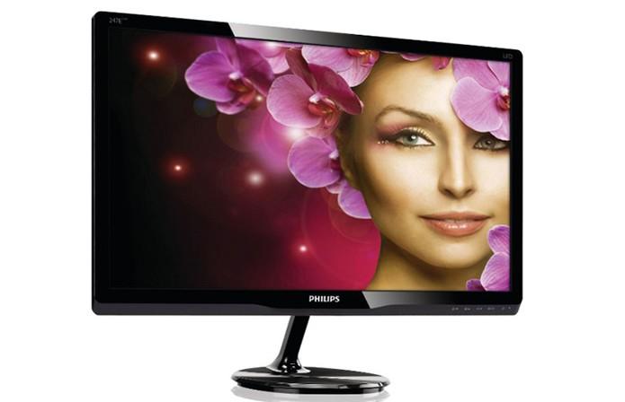 Monitor da Philips com tela de 23,6 polegadas vem com SmartControl (Foto: Divulgação/Philips)