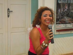 Cantora Kelen Mendes, articuladora da Rede Banzeiro (Foto: Duaine Rodrigues/G1)