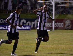 Rodrigo Silva, atacante do ABC, comemora gol (Foto: Divulgação/ABC)