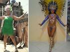 Ex-rainha de bateria da Mangueira emagrece 23 kg: 'Não faço mais dieta'