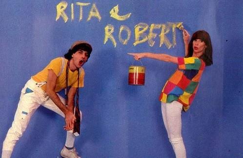 Rita e Roberto: milhões e milhões de cópias vendidas dos discos da dupla recheados de hits  (Foto: Reprodução)