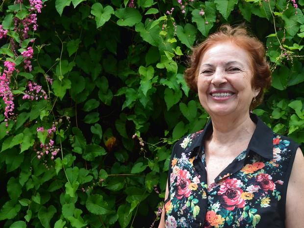 Dona Marta Irides dedica mais de 50 anos ao voluntariado em Ribeirão Preto, SP  (Foto: Gabriela Castilho/G1)