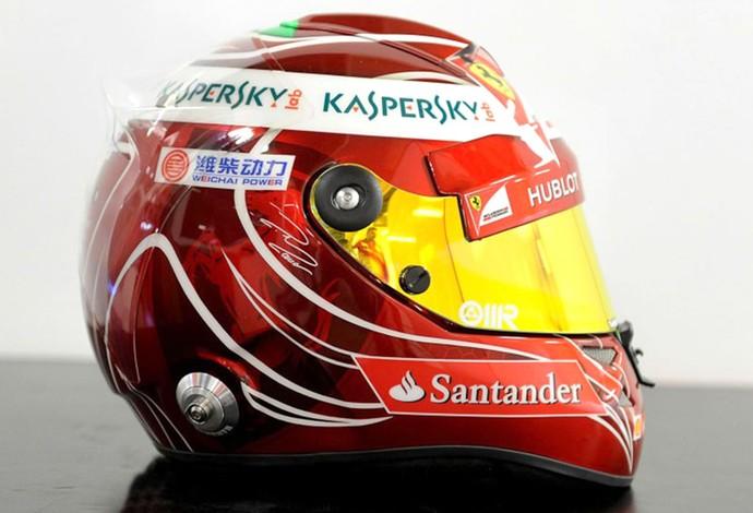capacete Massa despedida Ferrari (Foto: Divulgação / Site Oficial da Ferrari)
