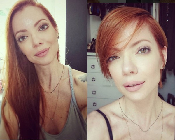 Julia antes e depois (Foto: Reprodução/Instagram)