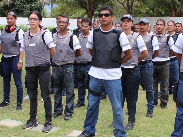 Guarda Municipal vai andar armada nas ruas de Vila Velha, Espírito Santo (Foto: Divulgação/ Prefeitura de Vila Velha)