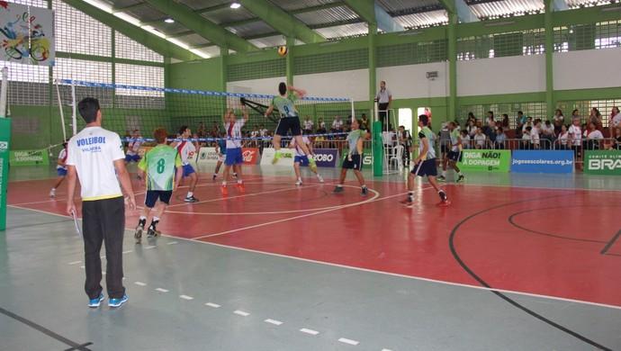 Time de vôlei de Vilhena está na semifinal dos Jogos da Juventude (Foto: AVV/Divulgação)